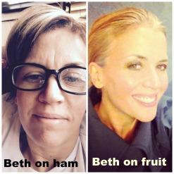 Beth Meme Ham vs Fruit