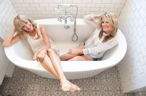 Beth and Jen bathtub