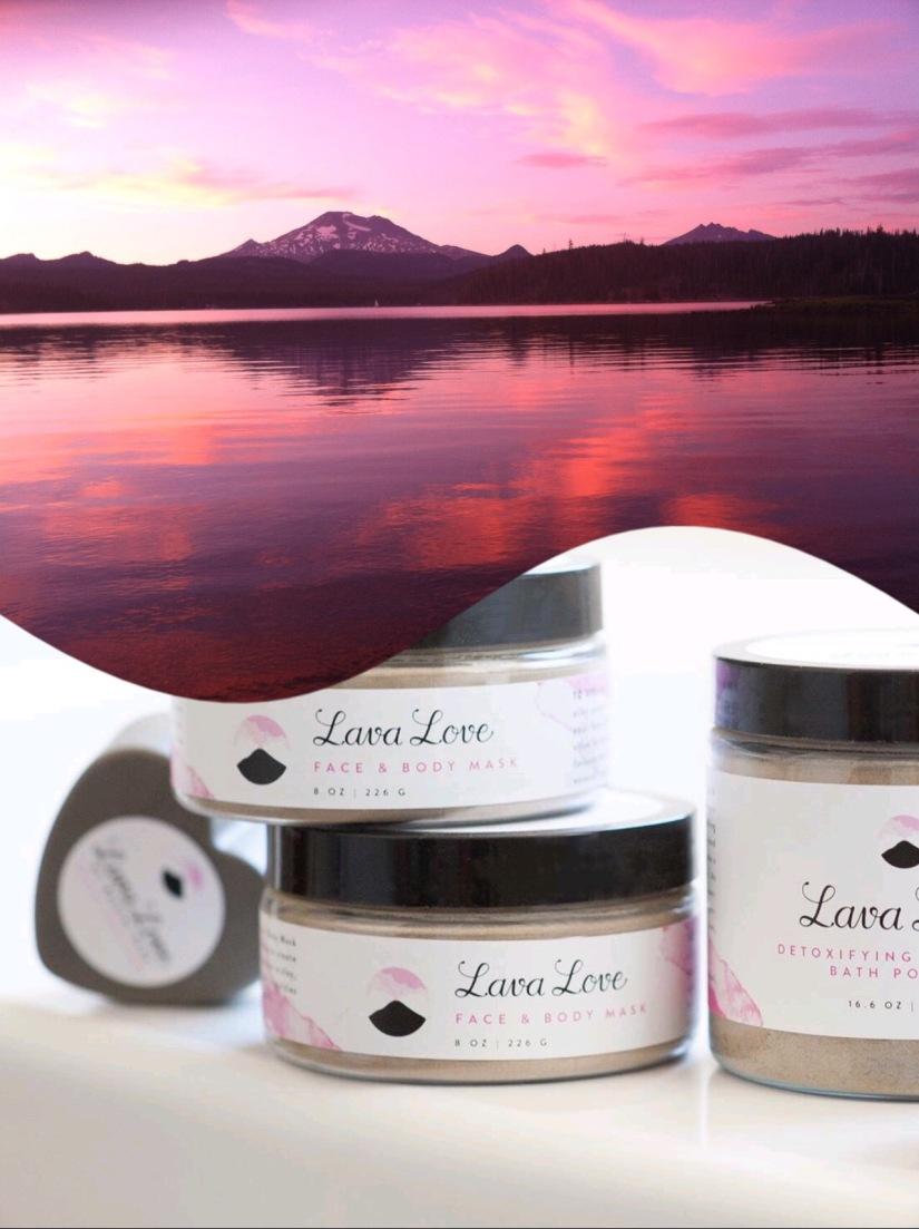 Pink Mountains Meme Lava Love